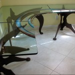 Sectional Glass Desks