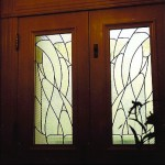 Leaded glass doors. Niche Award