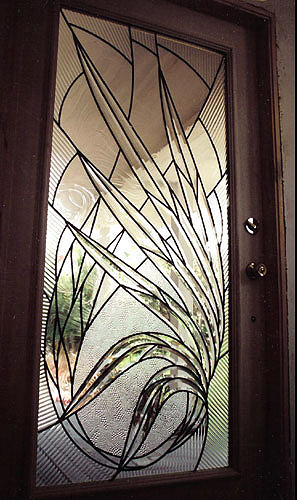 Beveled leaded glass doors. & Glass Art: Stained Leaded \u0026 Beveled Glass Doors CA | Alisha ...